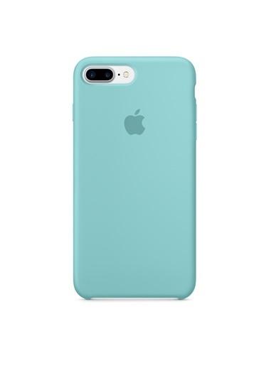 Jacobson iPhone 7 / 8 Plus Silikon Kapak Mavi
